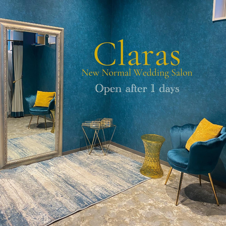 """🕊Claras Openまであと1日🕊・いよいよOpenまであと1日新しいWedding Styleをここから発信していきますここの物件に決まった瞬間に舞い降りてきた内装コンセプト大好きなBarcelonaのデザイナーズホテルをイimageしていよいよ明日Claras始まります・New Normal Wedding Salon""""Claras""""https://claras.jp/・about """"Claras""""…(ラテン語で、明るい·輝く)As(明日· 未来, フランス語て最高、一番) ・明るく輝く明日(未来) に貢献したいという想いを込めています🕊Fashionの都Parisをはじめ、欧米から選りすぐりのドレスをこれから出逢う花嫁のために取揃えました・2021.3.7 (Sun)NEW OPEN・Dressから始まるWedding Story""""憧れていた Dress選びから始まる結婚準備があったっていい""""・さまざまな新しい「価値」を創造し発信していきますこれからの新しい Wedding の常識を""""Claras """"から🕊・New Normal Wedding Salon【Claras】〒107-0061 東京都港区北青山2-9-14SISTER Bldg 1F(101) 東京メトロ銀座線 外苑前駅3番出ロより徒歩2分Tel:03 6910 5163(3/10より)HP: https://claras.jp(3/7サイトOpen予定) 営業時間:平日 12:00-19:00 土日祝11:00-18:00(定休日:月・火)・#wedding #weddingdress #legeretes #claras #paris #vowrenewal#ウェディングドレス #プレ花嫁 #ドレス試着 #2021春婚 #2021夏婚 #2021冬婚 #ヘアメイク #結婚式  #ドレス選び #前撮り #後撮り #フォトウェディング #ウェディングヘア  #フォト婚 #前撮り写真 #ブライダルフォト #カップルフォト #ウェディングドレス探し #ウェディングドレス試着 #レンタルドレス #ドレスショップ #家族婚 #バウリニューアル #記念日婚"""