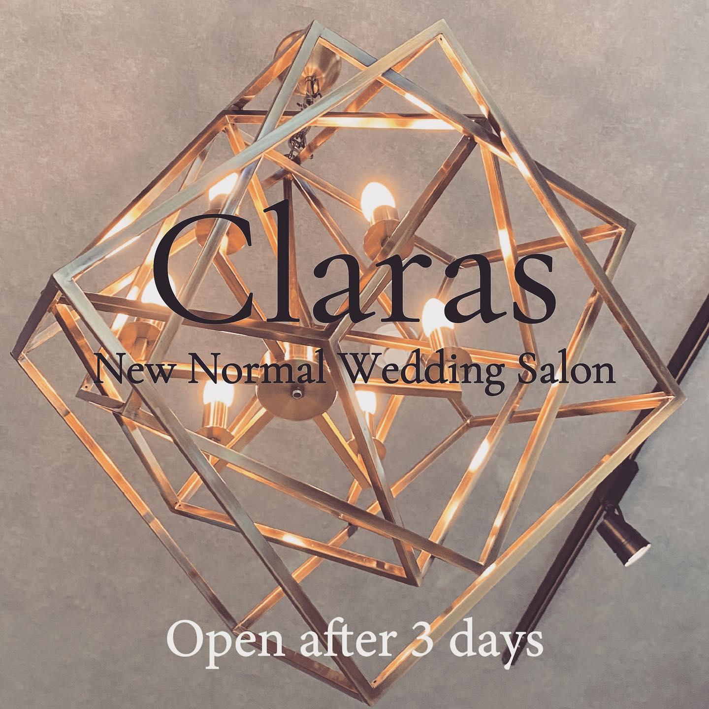 """🕊Claras Openまであと3日🕊・Openまであと3日今日はいよいよ搬入作業一つ一つ作りあがっていく過程を楽しんでここから沢山の笑顔が生まれますように・New Normal Wedding Salon""""Claras""""・about """"Claras""""…(ラテン語で、明るい·輝く)As(明日· 未来, フランス語て最高、一番) ・明るく輝く明日(未来) に貢献したいという想いを込めています🕊Fashionの都Parisをはじめ、欧米から選りすぐりのドレスをこれから出逢う花嫁のために取揃えました・2021.3.7 (Sun)NEW OPEN・Dressから始まるWedding Story""""憧れていた Dress選びから始まる結婚準備があったっていい""""・さまざまな新しい「価値」を創造し発信していきますこれからの新しい Wedding の常識を""""Claras """"から🕊・New Normal Wedding Salon【Claras】〒107-0061 東京都港区北青山2-9-14SISTER Bldg 1F(101) 東京メトロ銀座線 外苑前駅3番出ロより徒歩2分Tel:03 6910 5163(3/10より)HP: https://claras.jp(3/7サイトOpen予定) 営業時間:平日 12:00-19:00 土日祝11:00-18:00(定休日:月・火)・#wedding #weddingdress #legeretes #claras #paris #vowrenewal#ウェディングドレス #プレ花嫁 #ドレス試着 #2021春婚 #2021夏婚 #2021冬婚 #ヘアメイク #結婚式  #ドレス選び #前撮り #後撮り #フォトウェディング #ウェディングヘア  #フォト婚 #前撮り写真 #ブライダルフォト #カップルフォト #ウェディングドレス探し #ウェディングドレス試着 #レンタルドレス #ドレスショップ #家族婚 #バウリニューアル #記念日婚"""