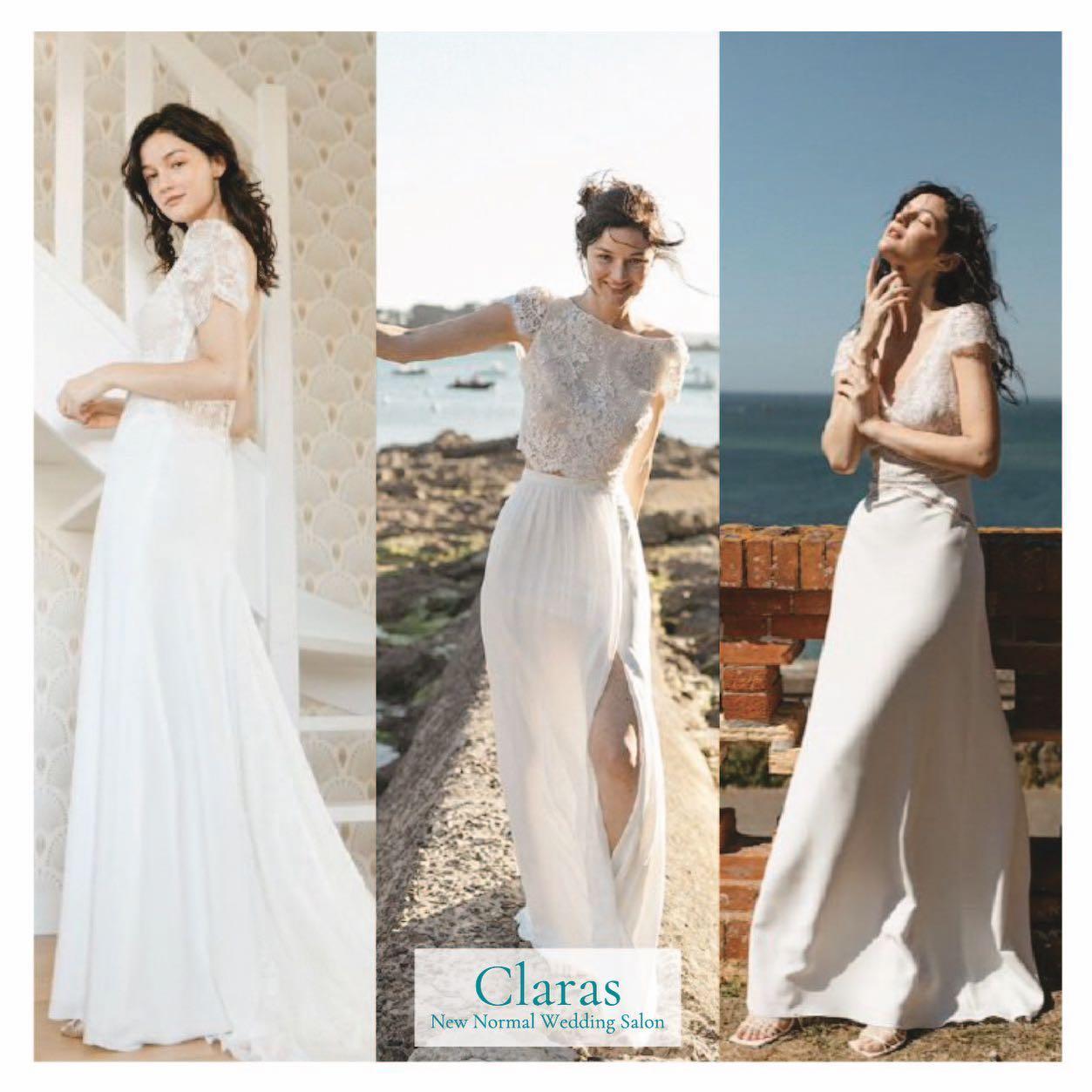 """🕊Claras とは🕊本当のドレス選びの楽しさを感じて欲しい・インポートドレスを適正価格でお届けするのがClaras・レンタルでは叶わない繊細で上質な素材も、ジャストサイズだから再現できるデザイン美も・Parisに関連会社があるからこそ直輸入での適正価格が叶う・Clarasは1組ずつ貸切でご案内寛ぎながら本当にその方に合った1着へと導きます自分だけのための1着を選びに来てください🤍結婚式やフォトなど迷ってる方でもまずはClarasへ🕊・長年様々なウエディングに携わってきたClarasスタッフより、細かなカウンセリングを行い的確ななご提案をさせていただきますご予約はDMからでも承れます・New Normal Wedding Salon""""Claras""""https://claras.jp/・about """"Claras""""…(ラテン語で、明るい·輝く)As(明日· 未来, フランス語て最高、一番) ・明るく輝く明日(未来) に貢献したいという想いを込めています🕊Fashionの都Parisをはじめ、欧米から選りすぐりのドレスをこれから出逢う花嫁のために取揃えました・2021.3.7 (Sun)NEW OPEN・Dressから始まるWedding Story""""憧れていた Dress選びから始まる結婚準備があったっていい""""・さまざまな新しい「価値」を創造し発信していきますこれからの新しい Wedding の常識を""""Claras """"から🕊・New Normal Wedding Salon【Claras】〒107-0061 東京都港区北青山2-9-14SISTER Bldg 1F(101) 東京メトロ銀座線 外苑前駅3番出ロより徒歩2分Tel:03 6910 5163HP: https://claras.jp営業時間:平日 12:00-18:00 土日祝11:00-18:00(定休日:月・火)・#wedding #weddingdress #instagood #instalike #claras #paris #vowrenewal#ウェディングドレス #プレ花嫁 #ドレス試着 #ドレス迷子 #2021夏婚 #2021冬婚 #ヘアメイク #結婚式  #ドレス選び #前撮り #インポートドレス #フォトウェディング #ウェディングヘア  #フォト婚 #ニューノーマル #ブライダルフォト #カップルフォト #ウェディングドレス探し #ウェディングドレス試着 #セルドレス #ドレスショップ #バウリニューアル #運命のドレス"""