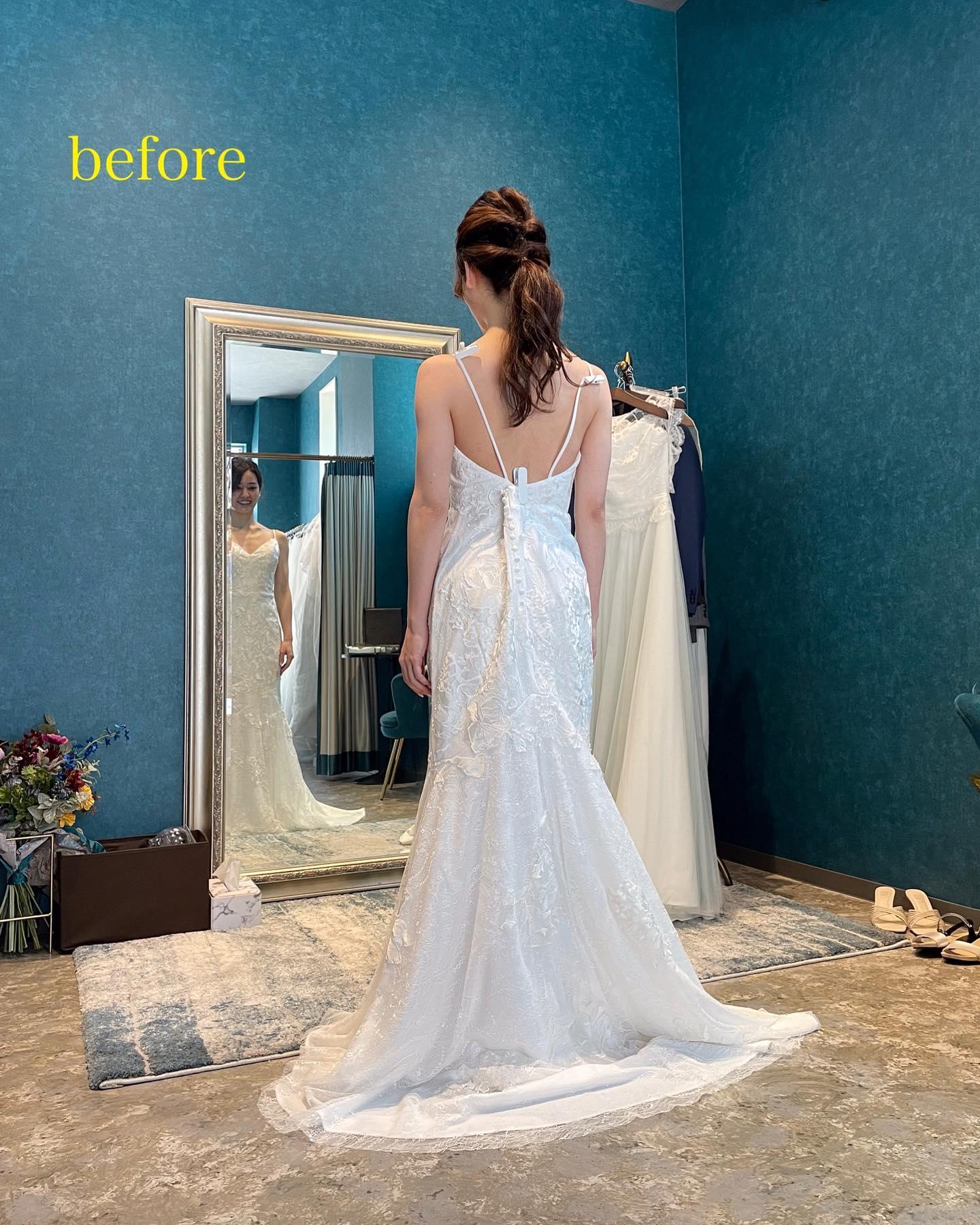 ・今日は先日のyogaイベントのご紹介🧘♀️@myk_bridalyoga さまとコラボさせていただきました・まずはdressを選んでいただき選んだドレスに合わせてyogaのレッスンをしていきます・選ぶdressによって、このドレスなら鎖骨を綺麗に見せたい…このドレスなら背中を美しく見せたい…など、dressの特徴によって最大限に美しく魅せたいpointってありますよね・いつもは笑顔がとってもcuteなmayuka先生もlessonの時は真剣な表情️・反り腰が気になるとおっしゃっていたご新婦さまも、レッスン後には助骨が閉まりさらに美しい姿勢でdressを着こなして下さいました・姿勢って本当に奥が深いですね…mayuka先生の生徒様達からは「姿勢が良くなると似合うドレスの幅が広がり試着が楽しい❣️」というお言葉をよく伺います🥺・また定期開催を予定してますので今回ご都合が合わなかった方もぜひまたご応募お待ちしております・続きのreportはまた改めて🤍@myk_bridalyoga ありがとうございました🧘♀️・#wedding #weddingdress #claras #paris #vowrenewal #aoyama #yoga#ウェディングドレス #プレ花嫁 #ドレス試着 #2021夏婚 #2021冬婚 #ヘアメイク #結婚式  #ドレス選び #前撮り #後撮り #フォトウェディング #ウェディングヘア  #フォト婚 #前撮り写真 #ブライダルフォト #カップルフォト #ウェディングドレス探し #ウェディングドレス試着 #レンタルドレス #ドレスショップ#ドレス迷子 #ヨガ #ブライダルヨガ