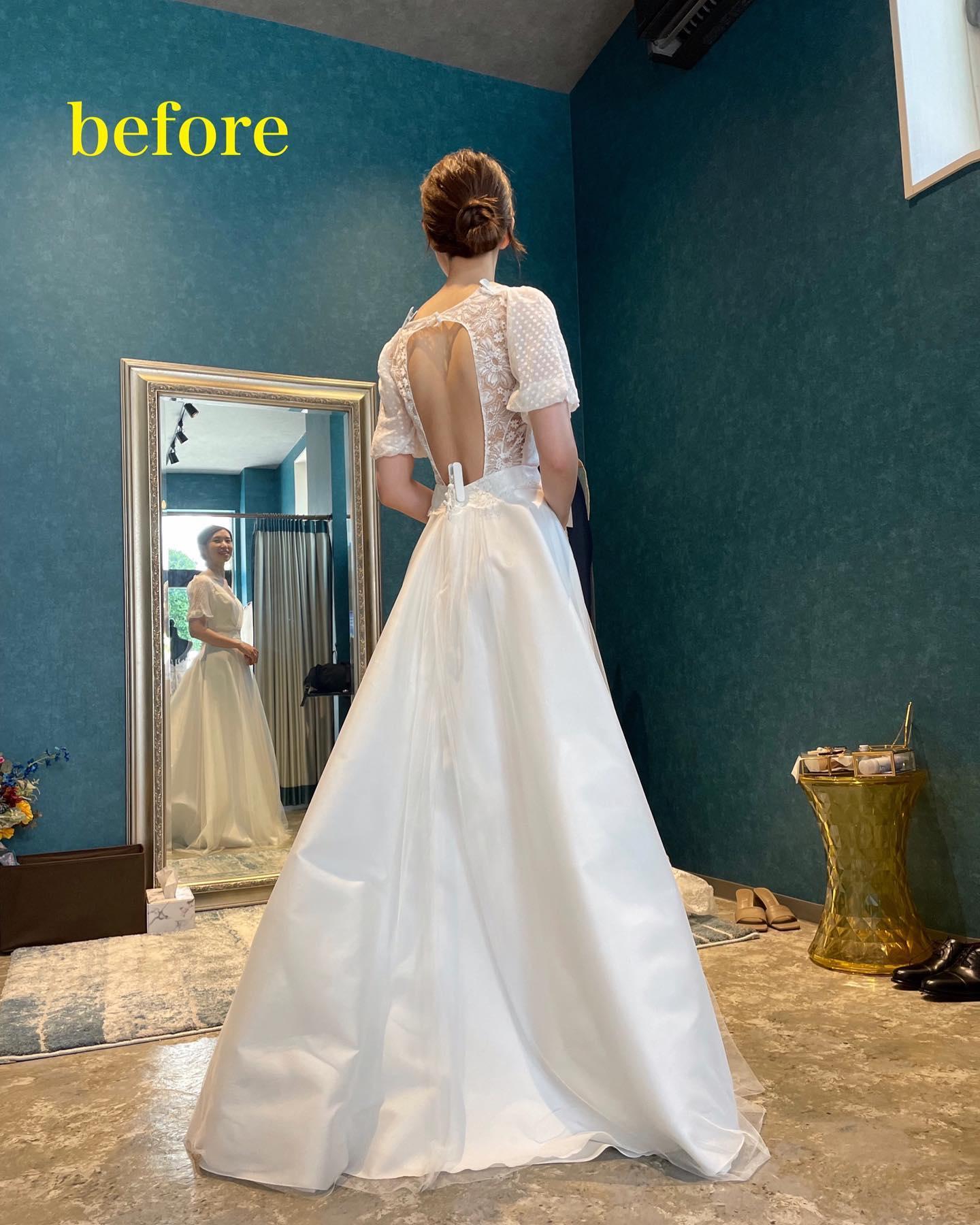 ・今日は先日のyogaイベントのご紹介🧘♀️@myk_bridalyoga さまとコラボさせていただきました・まずはdressを選んでいただき選んだドレスに合わせてyogaのレッスンをしていきます・選ぶdressによって、このドレスなら鎖骨を綺麗に見せたい…このドレスなら背中を美しく見せたい…など、dressの特徴によって最大限に美しく魅せたいpointってありますよね・いつもは笑顔がとってもcuteなmayuka先生もlessonの時は真剣な表情️・前回のご新婦さま同様、もともとすでに姿勢のいいご新婦さまなのですが、レッスン後は更に美しく真っ直ぐに・姿勢って本当に奥が深いですね…mayuka先生の生徒様達からは「姿勢が良くなると似合うドレスの幅が広がり試着が楽しい❣️」というお言葉をよく伺います🥺・また定期開催を予定してますので今回ご都合が合わなかった方もぜひまたご応募お待ちしております・@myk_bridalyoga 先生ありがとうございました🧘♀️・#wedding #weddingdress #claras #paris #vowrenewal #aoyama #yoga#ウェディングドレス #プレ花嫁 #ドレス試着 #2021夏婚 #2021冬婚 #ヘアメイク #結婚式  #ドレス選び #前撮り #後撮り #フォトウェディング #ウェディングヘア  #フォト婚 #前撮り写真 #ブライダルフォト #カップルフォト #ウェディングドレス探し #ウェディングドレス試着 #レンタルドレス #ドレスショップ#ドレス迷子 #ヨガ #ブライダルヨガ